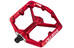 Crankbrothers Stamp Large - Pedales - rojo